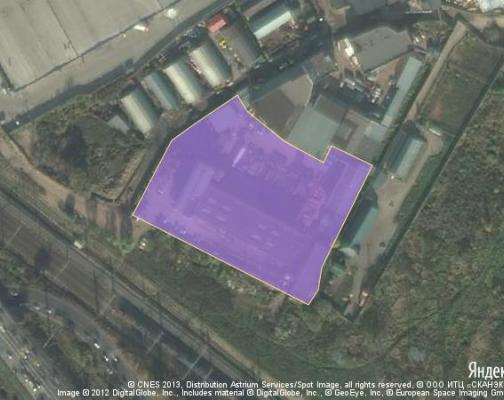 Участок 1.57 га под промышленно-складской комплекс, Химки, Химкинский район