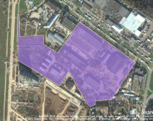 Участок 12.61 га под промышленно-складской комплекс, Зеленоград, Москва район