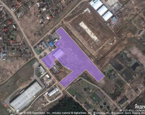 Участок 4.0 га под промышленно-складской комплекс, Звенигород, Одинцовский район